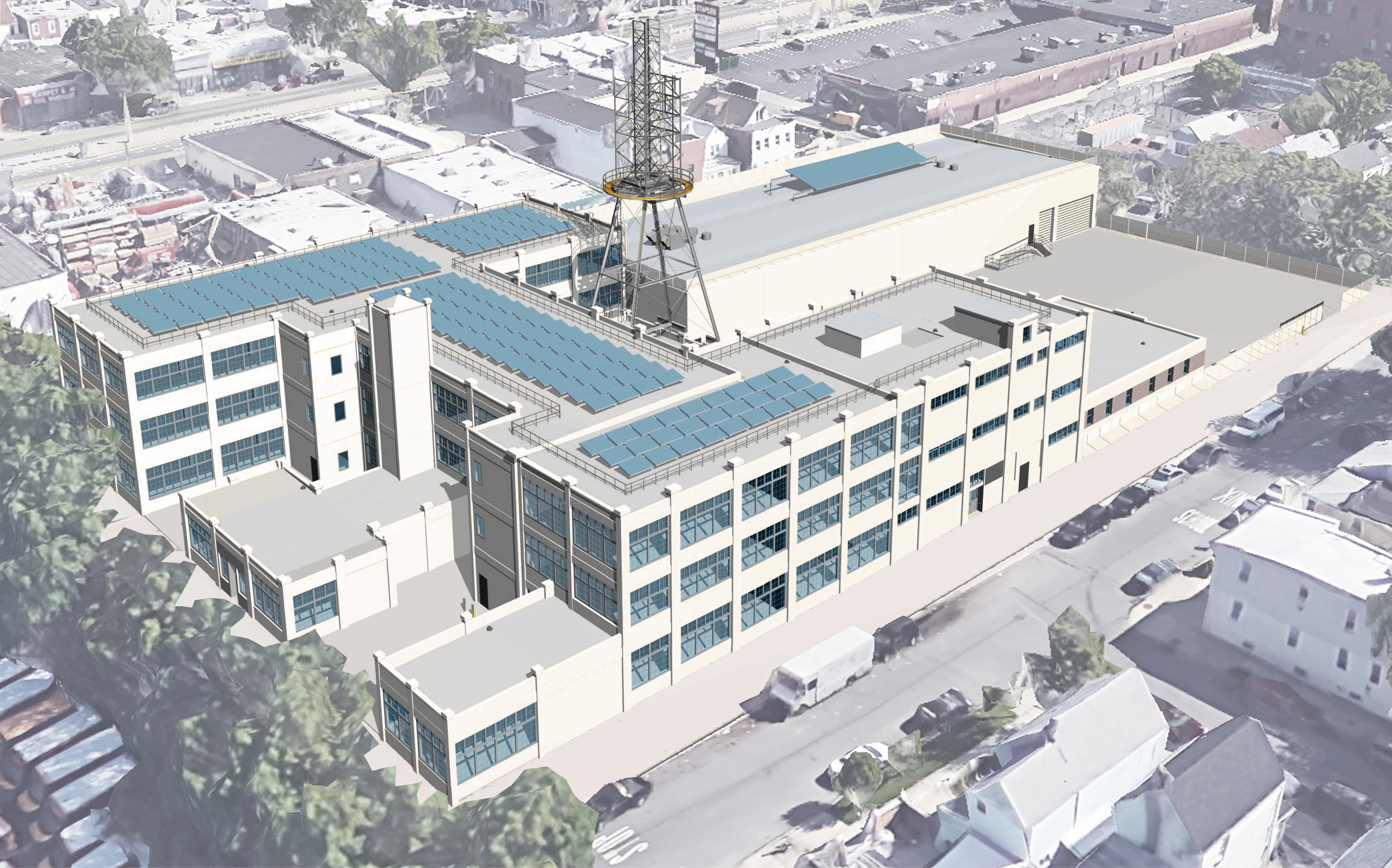 Construction is underway for GMDC Ozone Park Industrial Center